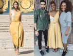 Issa Rae In Nina Ricci & Brandon Maxwell - Conde Nast NextGen & HFPA and Instyle Celebration of the 2018 Golden Globe Awards