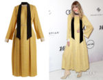 Jaime King's Fendi Abito Pop High-Neck Dress