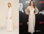 Jaime Ray Newman In Markarian - 'Marvel's The Punisher' New York Premiere