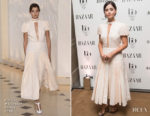 Jenna Coleman In Emilia Wickstead - Harper's Bazaar Women Of The Year Awards 2017