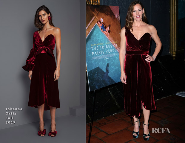 Jennifer Garner In Johanna Ortiz -  'The Tribes Of Palos Verdes' LA Premiere