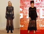 Jennifer Hudson In Alexander McQueen - ITV Gala