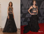 Jennifer Lawrence In Alexander McQueen - 9th Annual Governors Awards