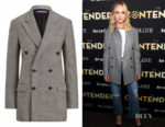Jennifer Lawrence's Ralph Lauren Franklin Glen Plaid Jacket