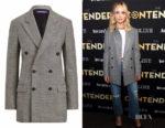 Jennifer Lawrence's Ralph Lauren Franklin Glen Plaid Jacket