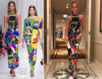 Jennifer Lopez is Instaglam in Versace