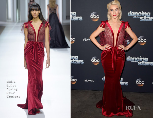 Julianne Hough In Galia Lahav Couture - Dancing With The Stars