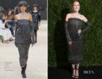 Julianne Moore In Chanel - Museum of Modern Art Film Benefit: A Tribute to Julianne Moore