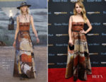 Juno Temple In Christian Dior - 'Wonder Wheel' New York Screening