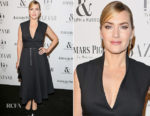 Kate Winslet In Christian Dior - Harper's Bazaar Women Of The Year Awards 2017