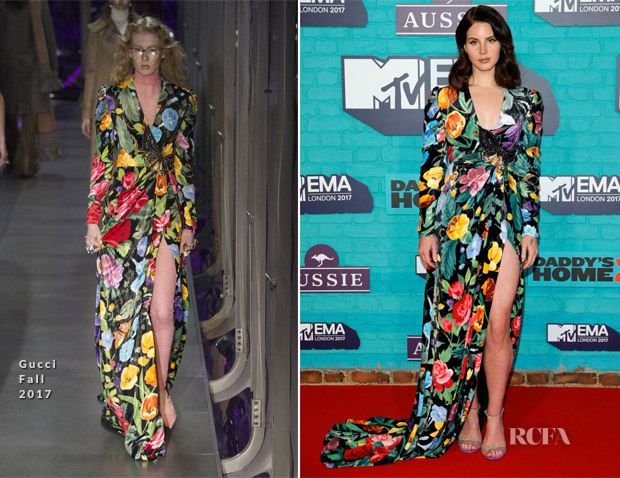Lana Del Rey In Gucci 2017 Mtv Emas