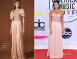 Lea Michele In J. Mendel - 2017 American Music Awards