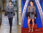 Lea Michele In Zuhair Murad - 2017 CMA Awards