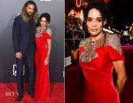 Lisa Bonet In Alexander McQueen -  'Justice League' LA Premiere