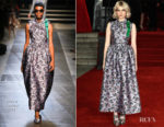 Lucy Boynton In Erdem - 'Murder On The Orient Express' World Premiere