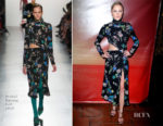 Maika Monroe In Prabal Gurung -  'The Tribes Of Palos Verdes' LA Premiere