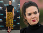 Mandy Moore In A.L.C. & Johanna Ortiz - Extra & SAG-AFTRA Foundation Patron of the Artists Awards