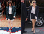 Margot Robbie In Monse, Calvin Klein & Givenchy - 'I, Tonya' Promo Tour