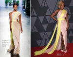 Mary J Blige In Cushnie et Ochs - 9th Annual Governors Awards