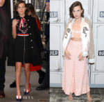 Millie Bobby Brown promotes 'Stranger Things 2' in Gucci, Rodarte & Miu Miu