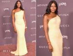 Naomi Campbell In Atelier Versace - 2017 LACMA Art + Film Gala