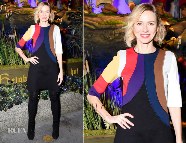 Naomi Watts In Sonia Rykiel - 2017 Saks Fifth Avenue & Disney 'Once Upon A Holiday'