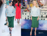 Nicole Kidman In Fendi - Le Printemps Christmas Decorations Inauguration
