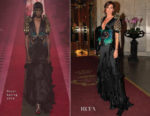 Nieves Alvarez In Gucci - Vanity Fair Party