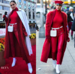 Olivia Culpo goes festive for Thanksgiving