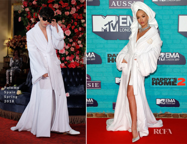 8d2eb47f228ea Rita Ora In Palomo Spain - 2017 MTV EMAs - Red Carpet Fashion Awards