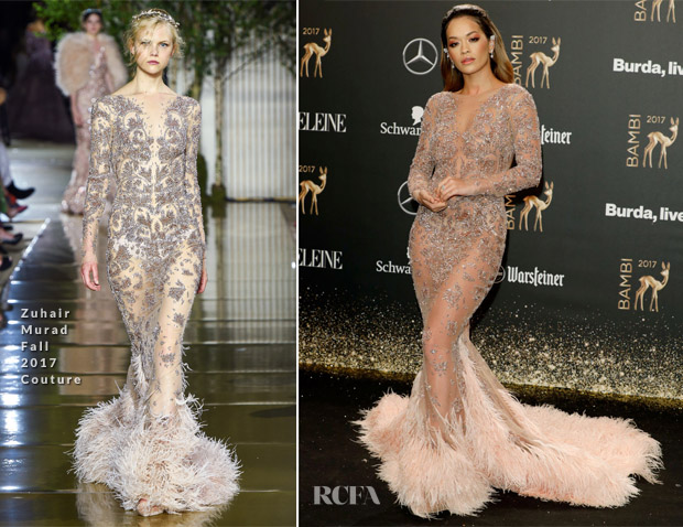 Rita Ora In Zuhair Murad Couture - 2017 Bambi Awards