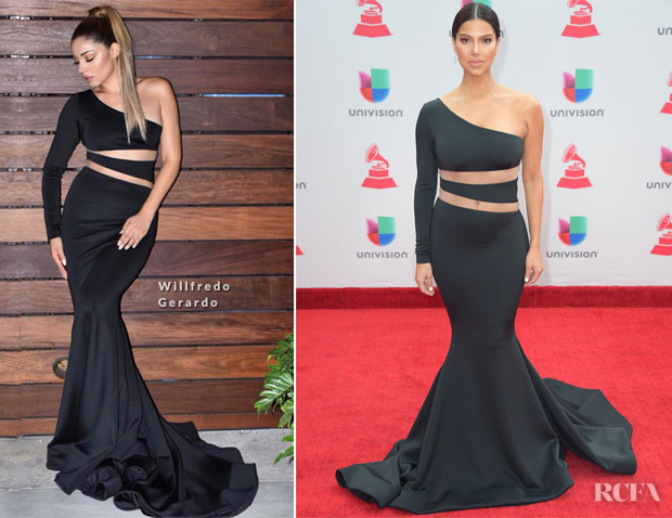 Roselyn Sanchez In Willfredo Gerardo -  2017 Latin Grammy Awards