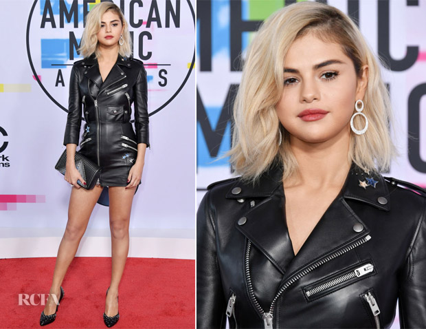 Selena Gomez In Coach - 2017 American Music Awards