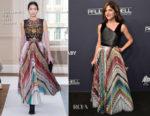 Selma Blair In Schiaparelli Fall 2017 Couture - 2017 Baby2Baby Gala