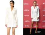 Sofia Richie's Rachel Zoe Tuxedo Dress