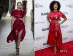 Tracee Ellis Ross In Prabal Gurung - 2017 Glamour Women Of The Year Awards