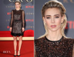 Vanessa Kirby In Prada - 'The Crown' Season 2 London Premiere