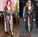 Who Wore Attico Better?  Kat Graham or Katy Perry?