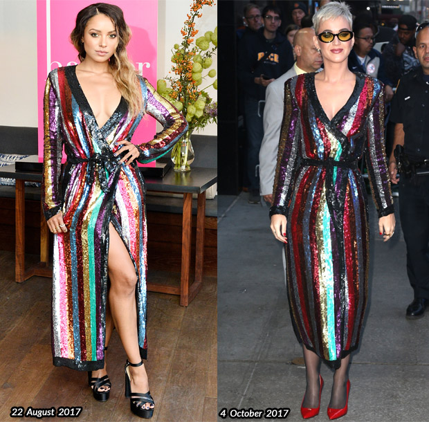 Who Wore Attico Better Kat Graham Or Katy Perry Red