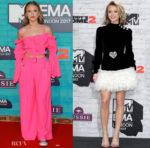 Zara Larsson In Alessandra Rich - 2017 MTV EMAs