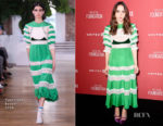 Zoe Kazan In Valentino - SAG-AFTRA Foundation Patron of the Artists Awards