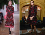 Zoey Deutch In Valentino  - The Hollywood Reporter's Next Gen 2017