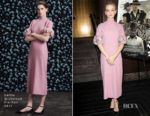 Carey Mulligan In Emilia Wickstead & Michael Kors Collection - 'Mudbound' New York & LA Screenings