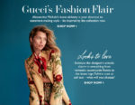 Gucci's new fashion flair @ NET-A-PORTER