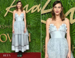 Alexa Chung In ALEXACHUNG - The Fashion Awards 2017