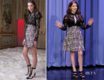 Anna Kendrick In Giamba - The Tonight Show Starring Jimmy Fallon