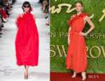 Annabelle Wallis In Stella McCartney - The Fashion Awards 2017