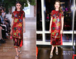 Anne Hathaway In Valentino -  'Every Mother Counts' Dinner