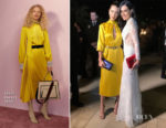 Bella Hadid In Fendi - Bulgari Resort Dubai Opening