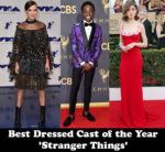 Best Dressed Cast of the Year - 'Stranger Things'